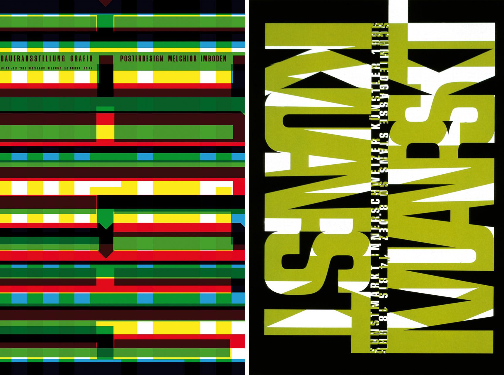 Melchior Imboden: Dauerausstellung Grafik (2009) und Kunstmarkt (1996)