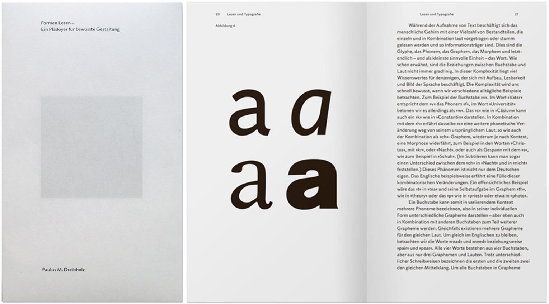 Paulus M. Dreibholz, »Formen Lesen – Ein Plädoyer für bewusste Gestaltung«