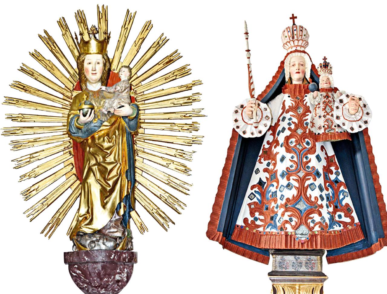 Madonnen aus dem Buch »Gott sieht alles – im heiligen Land Tirol«