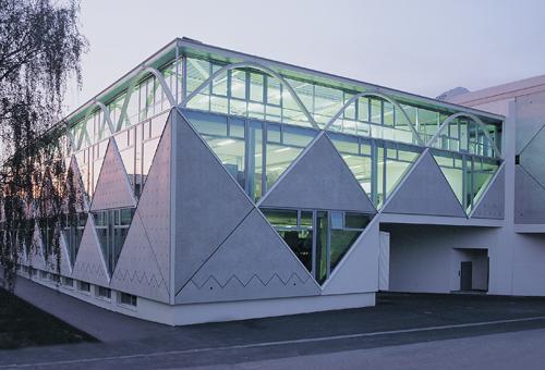 Werksgebäude Dinkhauser Kartonagen, Hall i.Tirol
