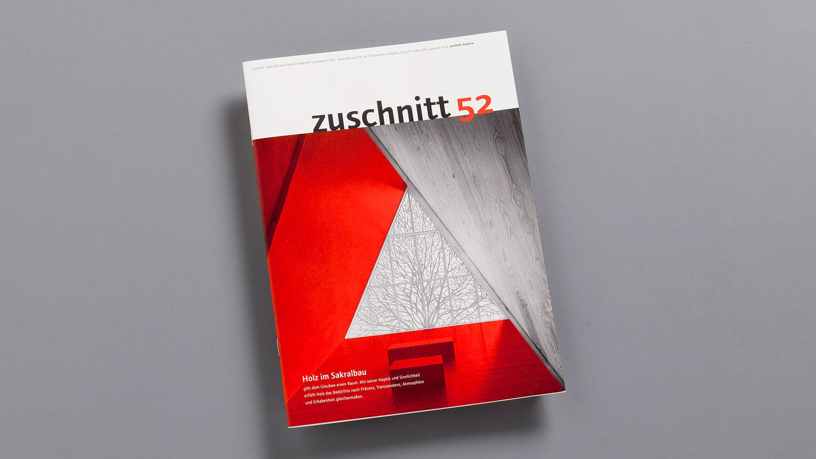 Fachzeitschrift zuschnitt (c) Atelier Gassner