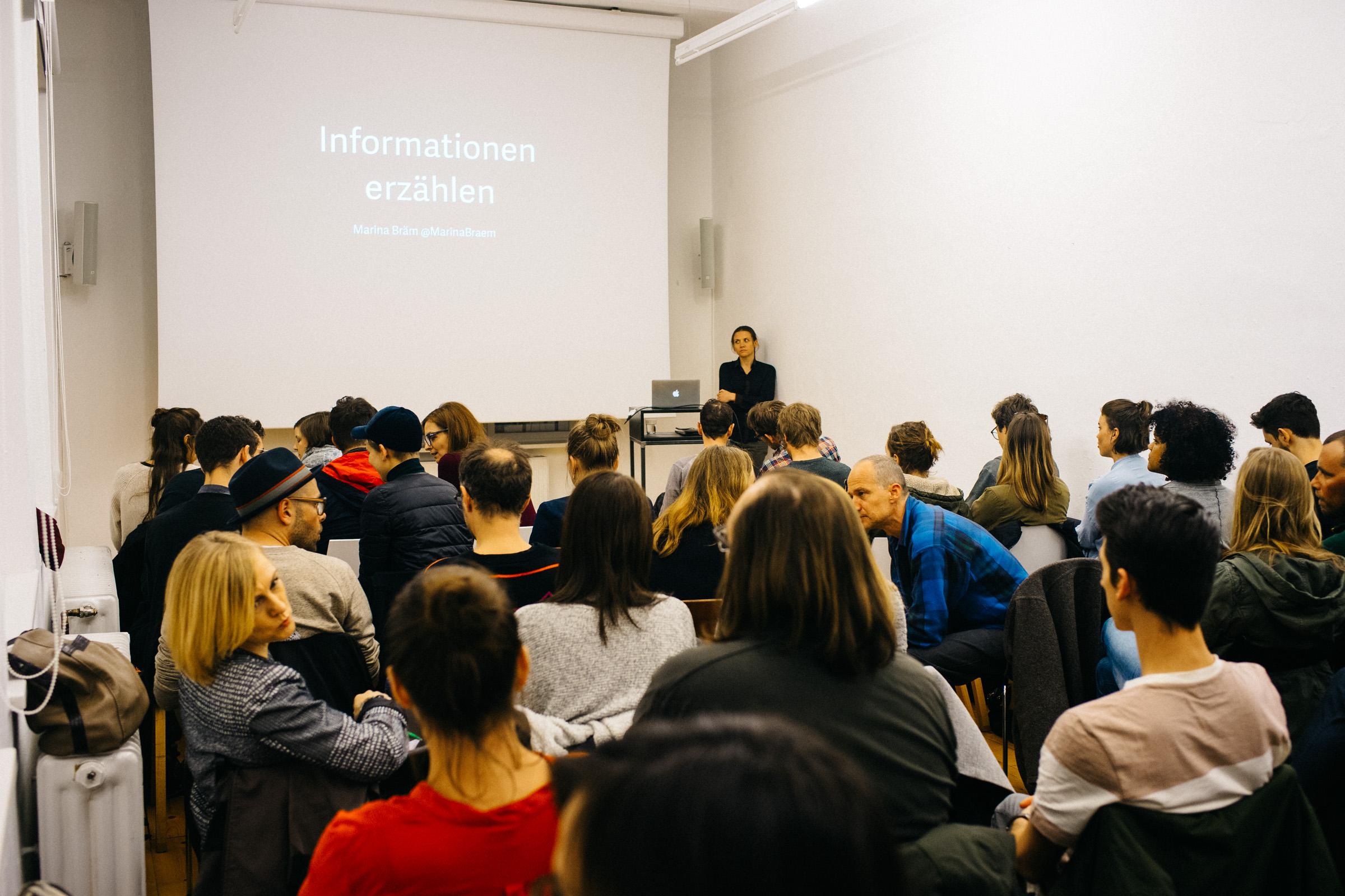 Vortrag Maria Bräm, März