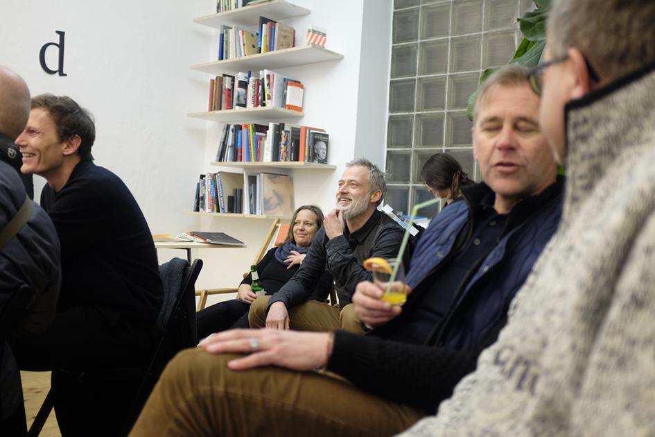 Ausstellung Stranded – Best of WEI SRAUM bib, Eröffnung