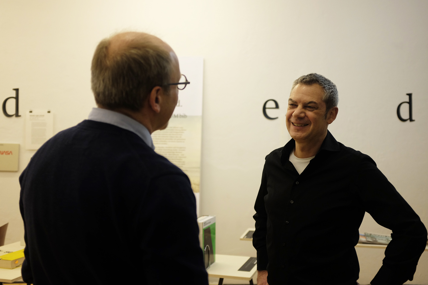 Buchpräsentation Kurt Dornig zur Ausstellung stranded
