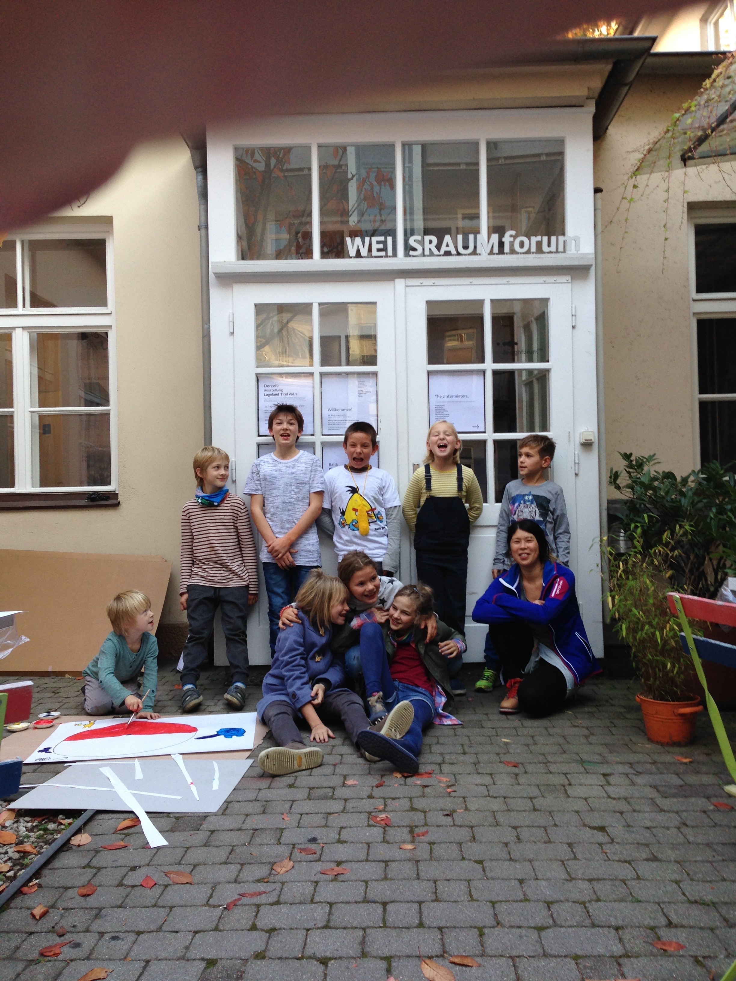 GrafiKIDS Workshop mit Ina Hsu