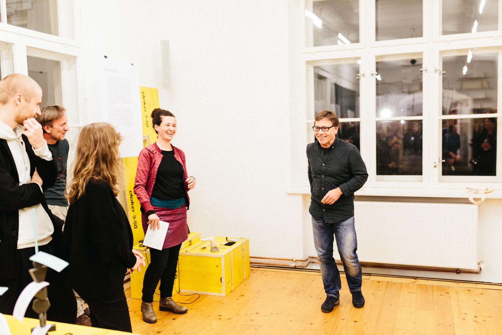 Eröffnung Ausstellung Design Matters