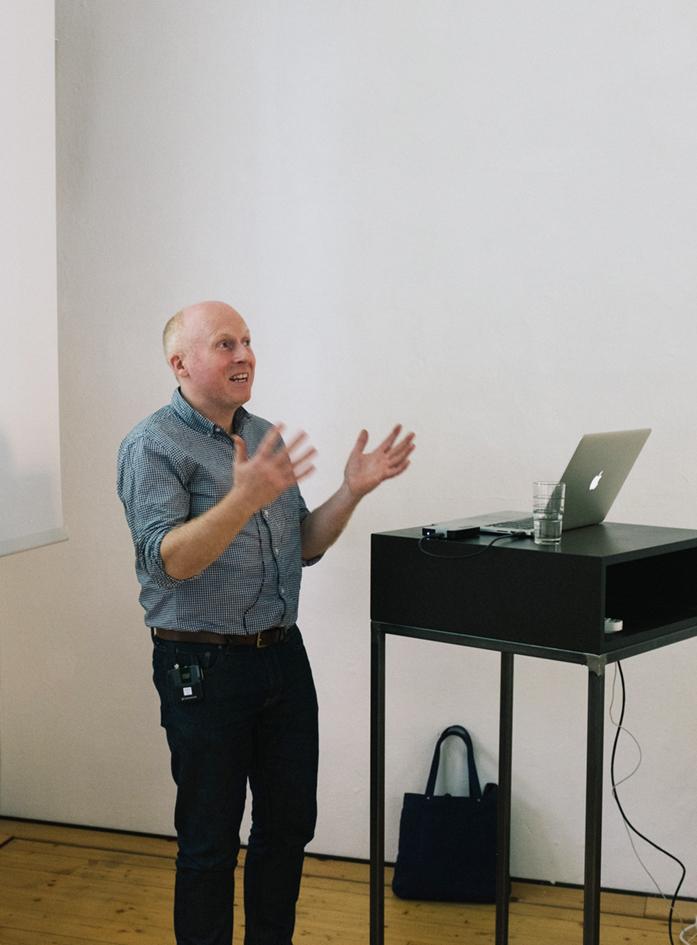 Vortrag Huw Morgan/GTF