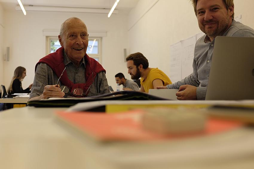 Workshop Buchgestaltung mit Jost Hochuli