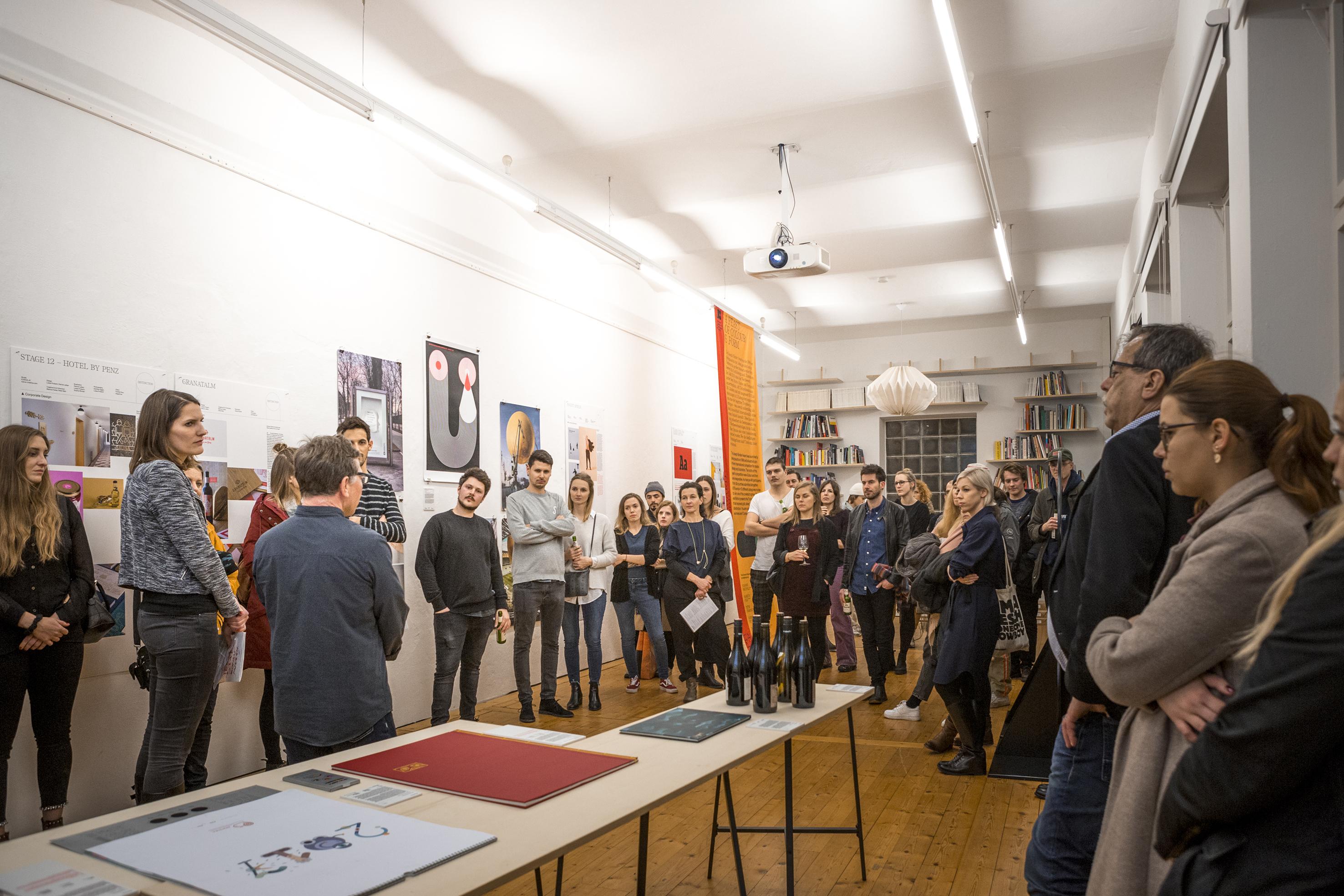 Eröffnung Ausstellung JBA