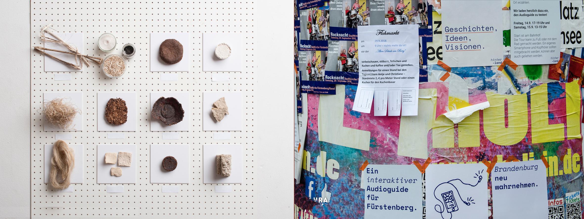 Arbeiten von Studierenden des Masterlehrgangs Eco-Social Design